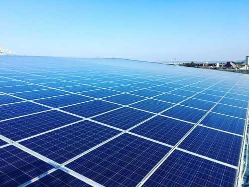 Nettoyage de 1600m2 de panneaux photovoltaïques - mairie Ville Cherbourg-en-Cotentin