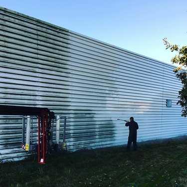 Nettoyage 306m2 panneaux photovoltaïques - Pommerit-le-Vicomte