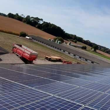 Nettoyage de panneaux photovoltaïques - Bretagne