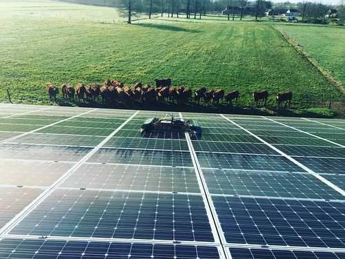 Nettoyage panneaux photovoltaïques - Eréac