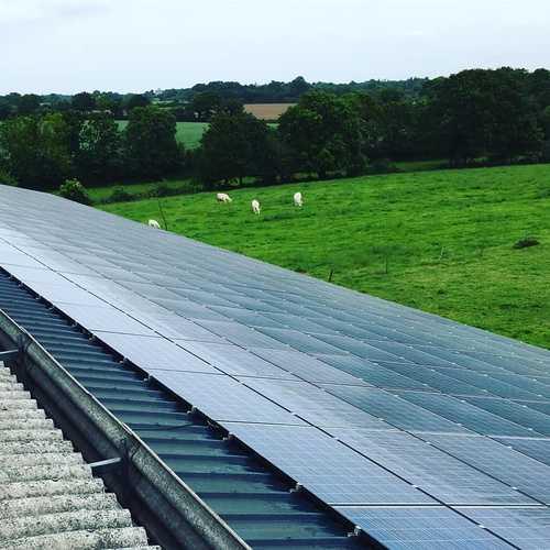 Nettoyage de panneaux photovoltaïques - Pornic (44)