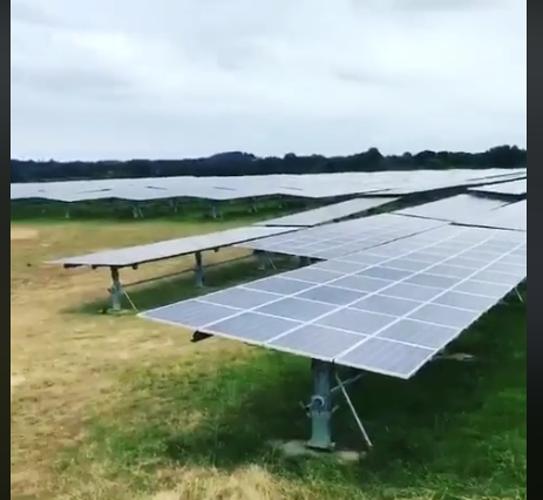 Nettoyage de trackers solaires - Vendée 0